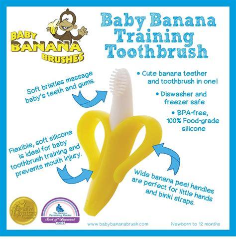De Brown39s Infant To Toddler Toothbrush baby banana brush mordedera cepillo dental suave y