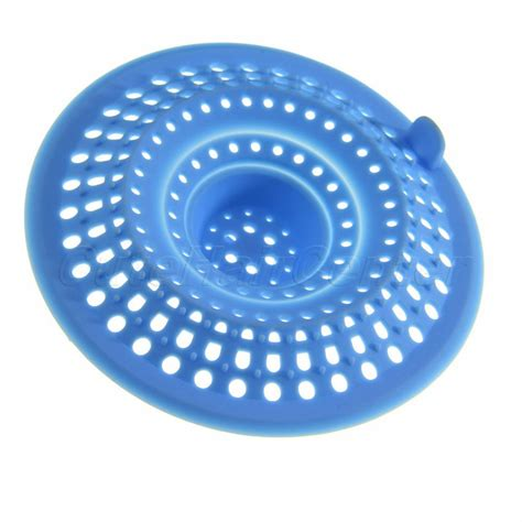 bathroom drain hair stopper new arrival 2 way silicone hair catcher stopper mesh