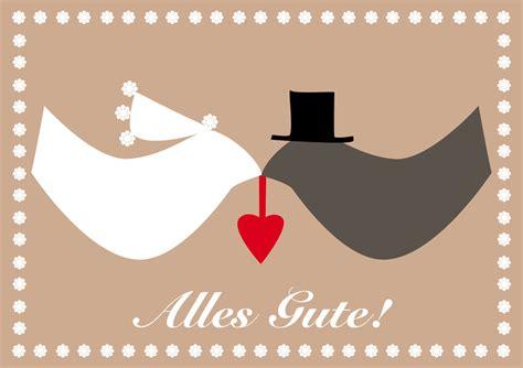 Postkarten Hochzeit postkarte vogel hochzeit hannalu