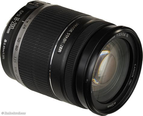 Lensa Zoom Canon 18 200mm canon 18 200mm is