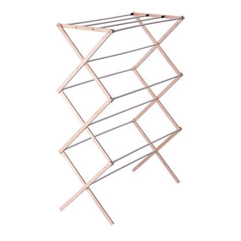 Wooden Drying Rack For Laundry by Household Essentials Indoor Clothes Dryer Accordion In