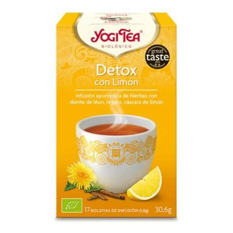 Yogi Detox Tea For Tests by Yogi Tea Detox Infusi 243 N Rejuvenecedora Refrescante Y