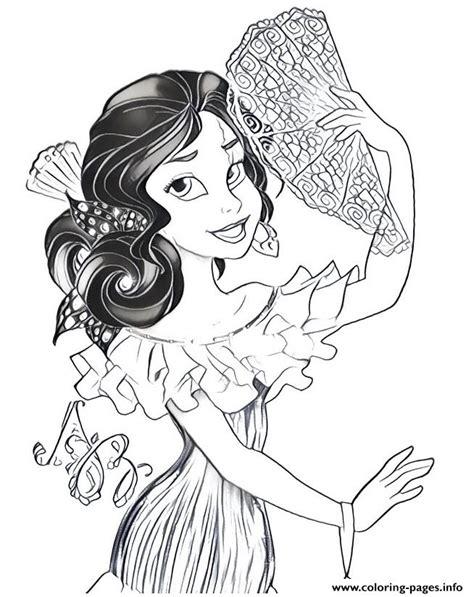 Elena Of Avalor Princess Disney Bal Coloring Pages Printable Princess Of Avalor Coloring Pages Free Coloring Sheets