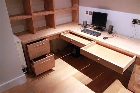 fitted home office furniture bespoke fitted bookcases