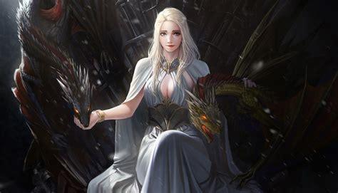wallpaper game of thrones daenerys 2160x3840 game of thrones daenerys targaryen artwork sony