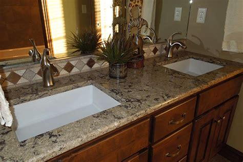 Bathroom Granite Countertops Granite Bathroom Countertops Liberty Home Solutions Llc