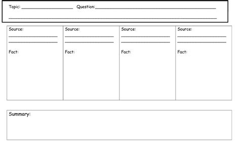 How To Make A Graphic Organizer On Paper - graphic organizer for research paper search results