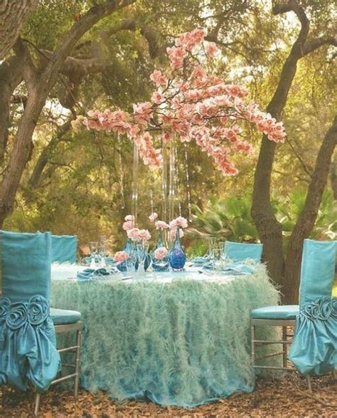 Turquoise And Pink Wedding Decorations by Pink And Turquoise Garden Wedding Decors Weddings
