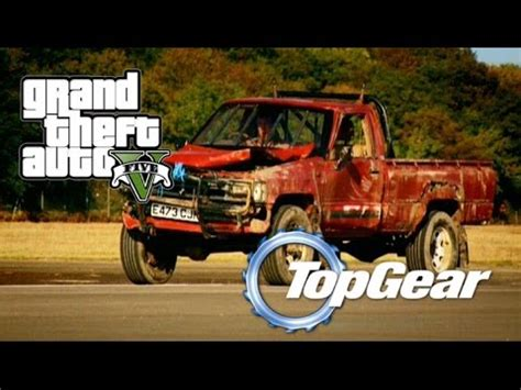 Top Gear Toyota Gta 5 Top Gear Indestructible Toyota Hilux Custom Car