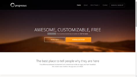 bootstrap free templates for advertising 20 free bootstrap templates themesyour digital