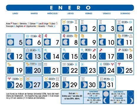 Calendario Lunar 2015 Calendario Lunar Enero De 2015