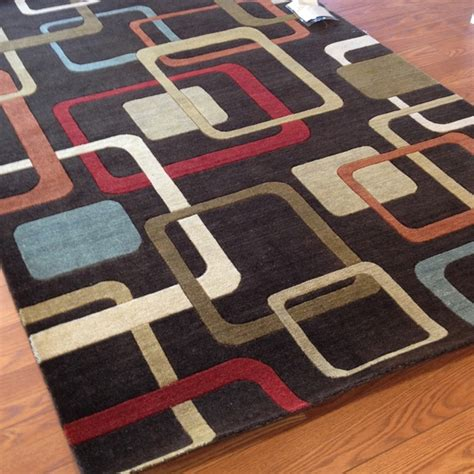 Clearance Area Rug by Payless Rugs Clearance Abacus Modern Area Rug 5 Ft X 8 Ft
