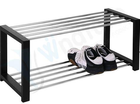 metal shoe bench wood and metal shoe rack cosmecol