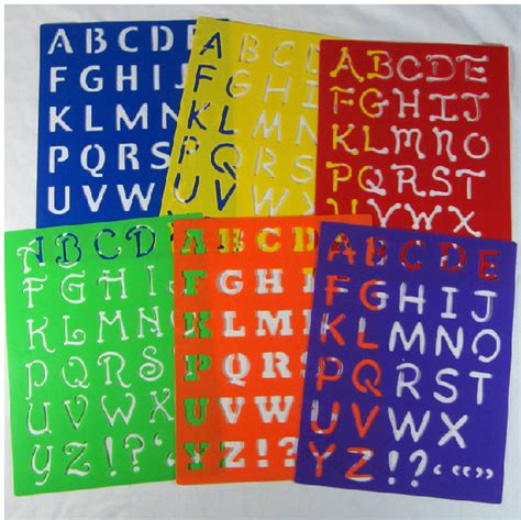 popular alphabet stencil buy popular alphabet stencil lots