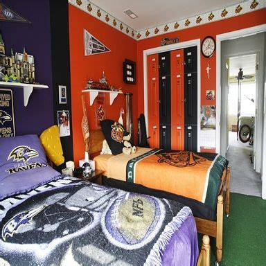nfl bedroom decor nfl bedroom teen boys room ideas pinterest nfl and