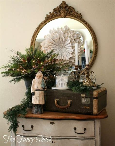the fancy shack christmas home tour vintage christmas