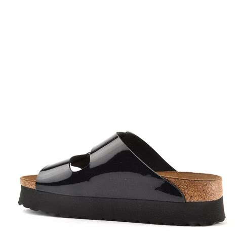 platform birkenstock sandals birkenstock papillio arizona black platform sandal