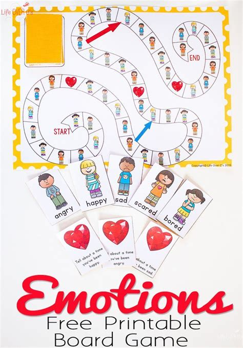 printable children s lotto games 184 best images about emotions and feelings on pinterest