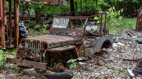 Jeep Junkyard Junkyard Rescue Willys Mb Wwii Jeep
