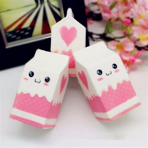 Squishy Jumbo squishy jumbo pink milk bottle box 11cm rising soft