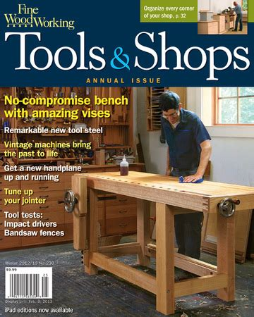 woodworkers book club 230 tools shops 2013 finewoodworking