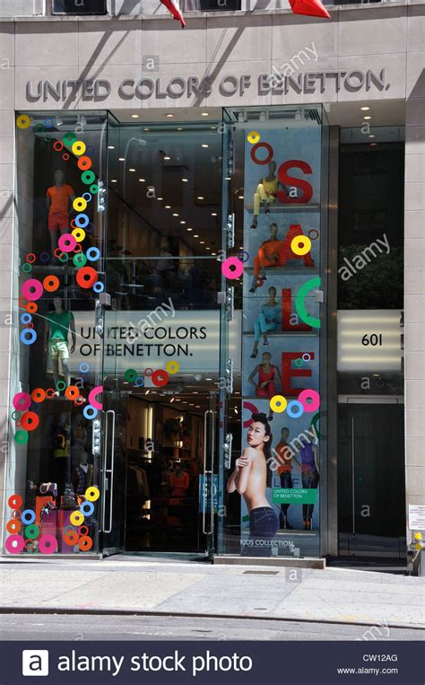 united colors of benetton usa shop window united colors benetton stock photos shop