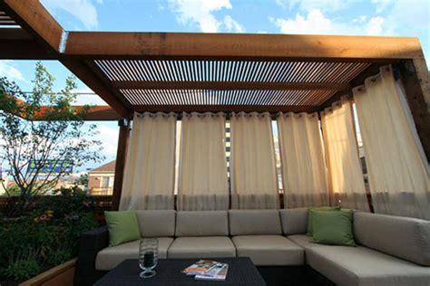 Sunbrella Outdoor Shower Curtains - rideaux ext 233 rieurs design id 233 es id 233 es de d 233 coration chambre