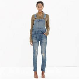April Overall Top wornontv april s striped top and denim overalls on