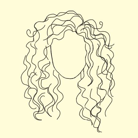 drawing curly hair what does your hair say about you romantic people and