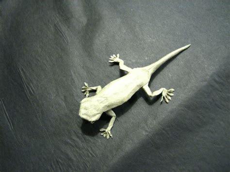 Origami Gecko - frog gecko lizard salamander