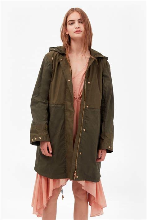 Outer Parka Kanvas mili canvas summer parka jackets coats