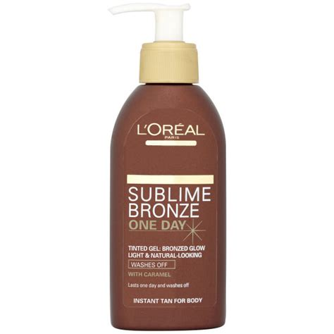 L Tinted by L Oreal Sublime Bronze Instant One Day Wash