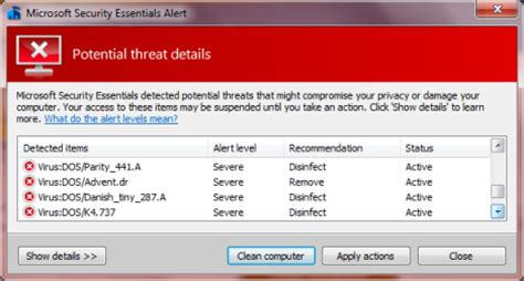 windows 7 firewall microsoft security essentials can