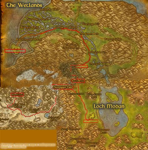 wow boat to ratchet warcraft how to get to ironforge stormwind city from