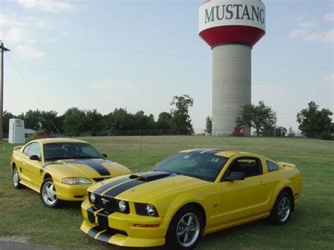 mustang ok horses photo picture image oklahoma