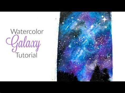 watercolor tutorial night sky best 20 how to draw galaxy ideas on pinterest galaxie