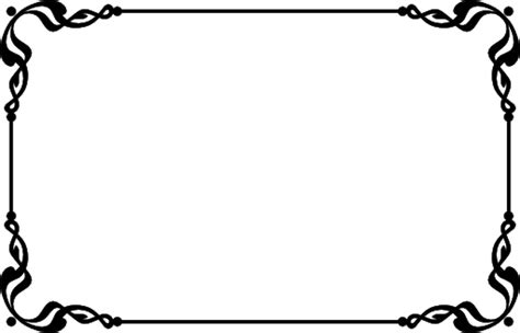 Wedding Sign Border by Clipart Flower Border Black And White Free