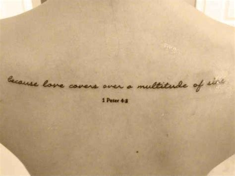 bible quotes about love tattoo 30 inspirational bible verse tattoos 1 peter 4 all love