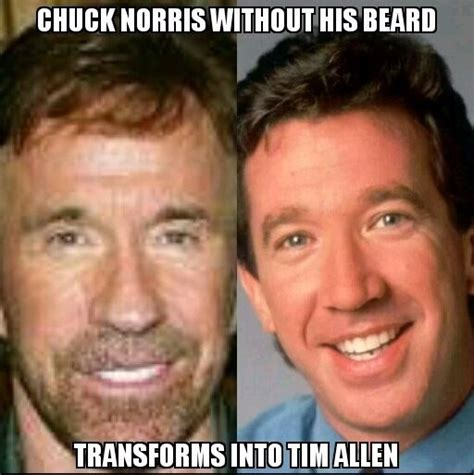 Chuck Norris Beard Meme - chuck norris without his beard funny pictures