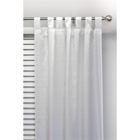 curtain smart smart home products 110 x 210cm salt tab top single curtain