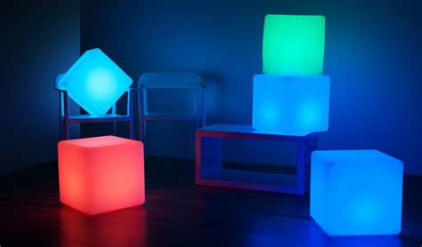 Leather Armchair Cheap Products Larala Lights Nz The Cube Illuminated Led Light