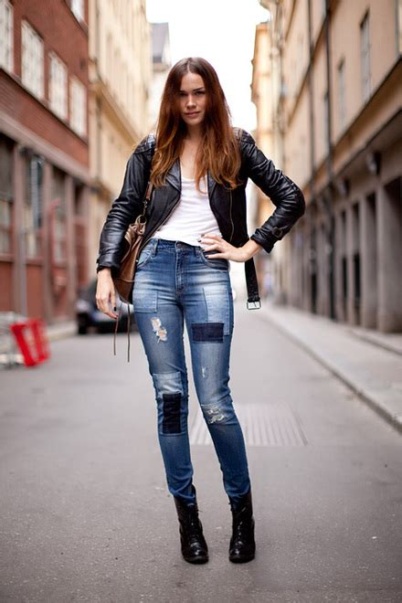 Patchwork Denim Trend - patchwork denim the new trend you got to try