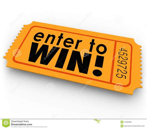 to enter raffle ticket clipart clipart suggest