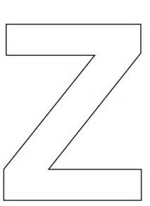 7 best images of all letter z printables printable