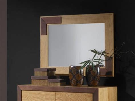 Longch Ruban Large 501 miroir ruban en ch 234 ne massif et bois de noyer meubles bois massif