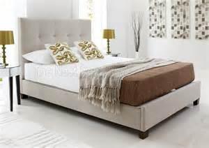 Fabric Ottoman Bed Walkworth Slate Fabric Ottoman Bed