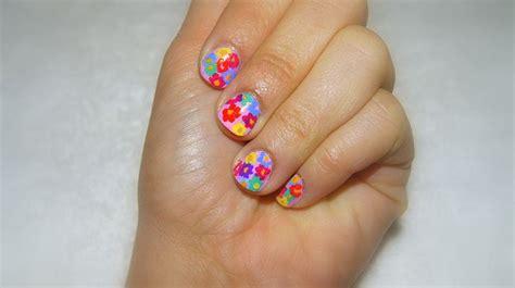 imagenes de uñas decoradas tropicales 17 mejores ideas sobre dise 241 os de primavera para u 241 as en