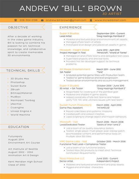 only resume text