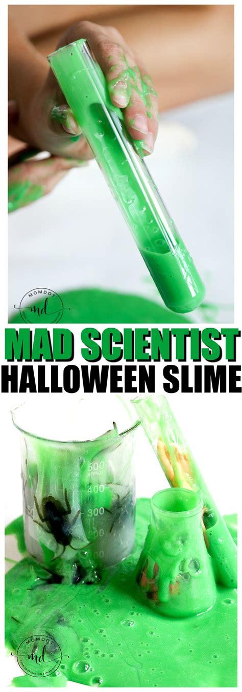 tutorial thai slime mad scientist halloween slime tutorial