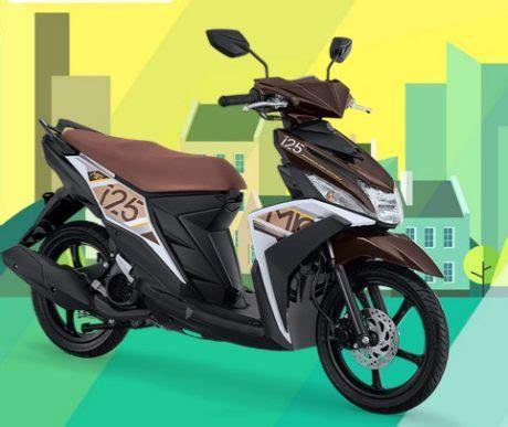 Yamaha Mio M3 2017 foto warna dan spesifikasi yamaha mio m3 125 2017 sudah